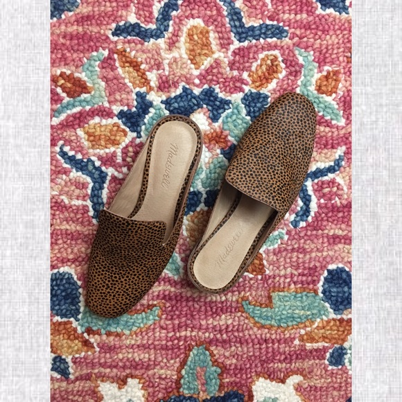 20d92316d5c Madewell Shoes - Madewell Willa Loafer Mule Spotted Calf Hair